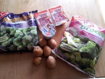 Rosenkohl-Broccolisuppe - Rezept
