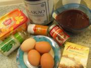 Kuchen: Schoko - Blutorangen - Kuchen - Rezept