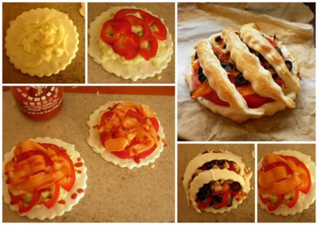 Paprika-Oliven-Snack - Rezept - Bild Nr. 2