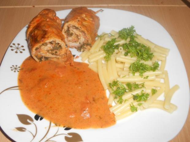 """Schweineroulade """"Italia"""" - Rezept"""