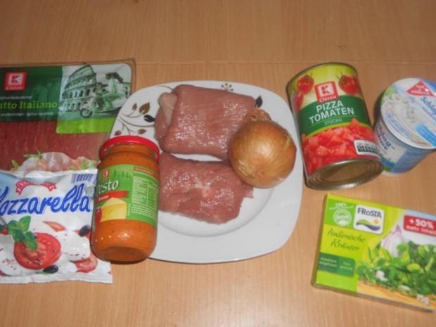 """Schweineroulade """"Italia"""" - Rezept - Bild Nr. 2"""