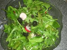 frischer Frühlingssalat mit grünem Spargel - Rezept