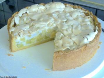 Rhabarber-Baiser-Torte - Rezept