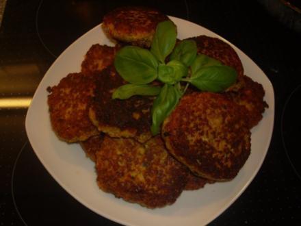 Vegetarische Buletten - Rezept