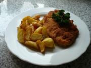 Saftiges Putenschnitzel mit frittierter Petersilie (histaminarm) - Rezept