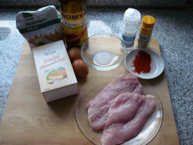 Saftiges Putenschnitzel mit frittierter Petersilie (histaminarm) - Rezept - Bild Nr. 2