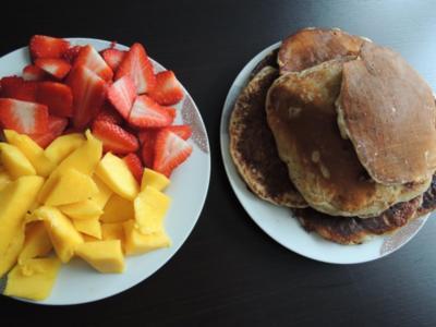 Pancakes ohne Ei - Rezept