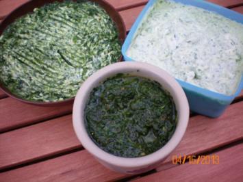 Rezept: Bärlauchbutter - Bärlauchbrotaufstrich - Bärlauchpesto