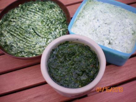 Bärlauchbutter - Bärlauchbrotaufstrich - Bärlauchpesto - Rezept