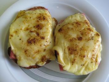 Käseschnitte Hawaii - Rezept