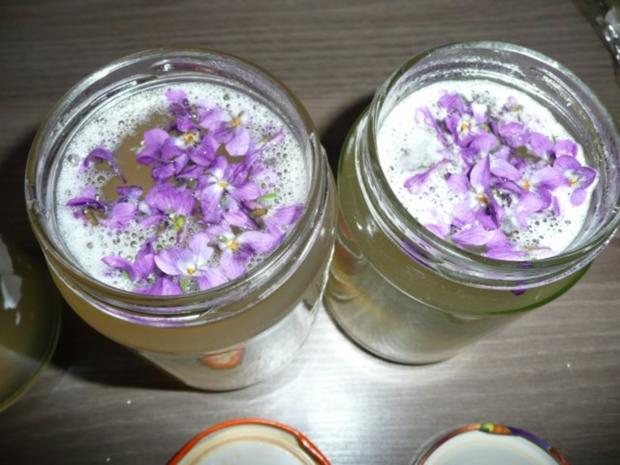 Veilchen - Gelee - Rezept - Bild Nr. 4