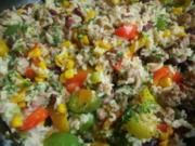 Gemüse-Hack- Reispfanne - Rezept