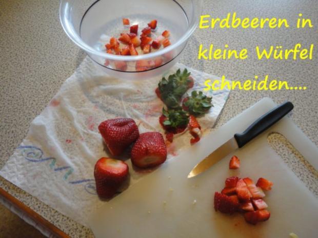 marinierte Lavendel-Erdbeeren... - Rezept - Bild Nr. 3