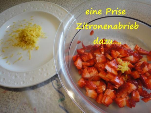 marinierte Lavendel-Erdbeeren... - Rezept - Bild Nr. 4
