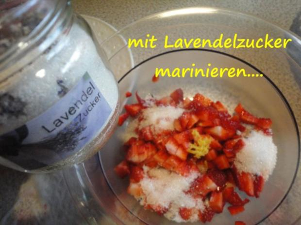 marinierte Lavendel-Erdbeeren... - Rezept - Bild Nr. 5