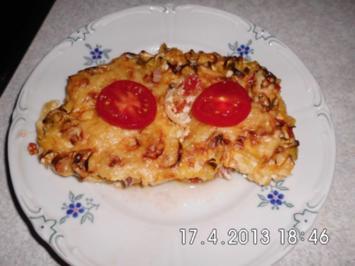 Lauch-Tomaten-Gratin - Rezept
