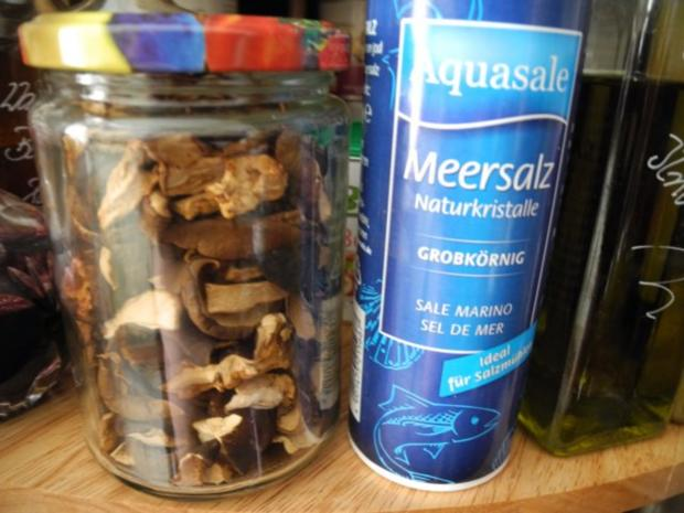 Meine Gewürzmischungen : Pilz - Salz - Rezept - Bild Nr. 2