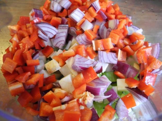 Meine Gewürzmischungen : Buntes Gemüse - Salz - Rezept - Bild Nr. 2