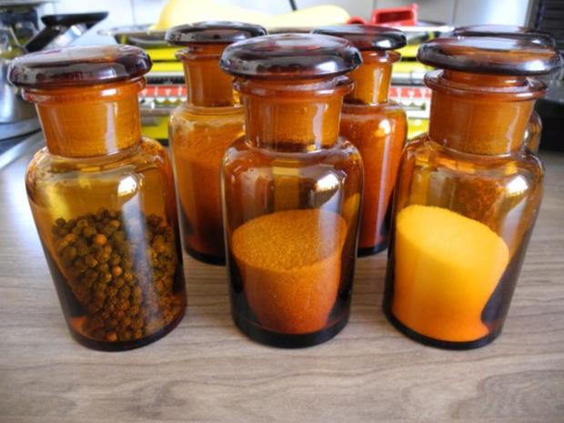 Meine Gewürzmischungen : Buntes Gemüse - Salz - Rezept