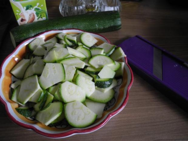 Gemüsebeilage : Zucchinigemüse - Rezept - Bild Nr. 4