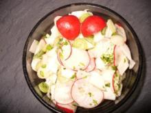 Radieschen- Rettichsalat - Rezept