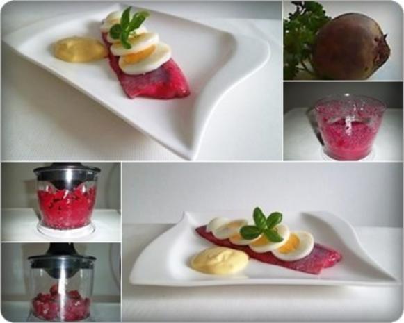 Rote Matjesfilets mit Eierscheiben - Rezept - Bild Nr. 11