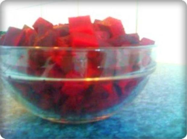 Rote Matjesfilets mit Eierscheiben - Rezept - Bild Nr. 6