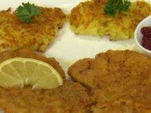 Original Wiener Schnitzel mit Rösti (Christian Häckl) - Rezept