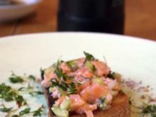 Bruschetta mit Kresse-Lachs - Rezept