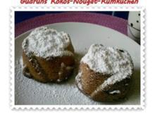 Kuchen: Kokos-Nougat-Rumkuchen - Rezept