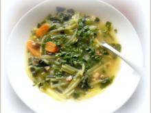Porree - Giersch - Suppe - Rezept