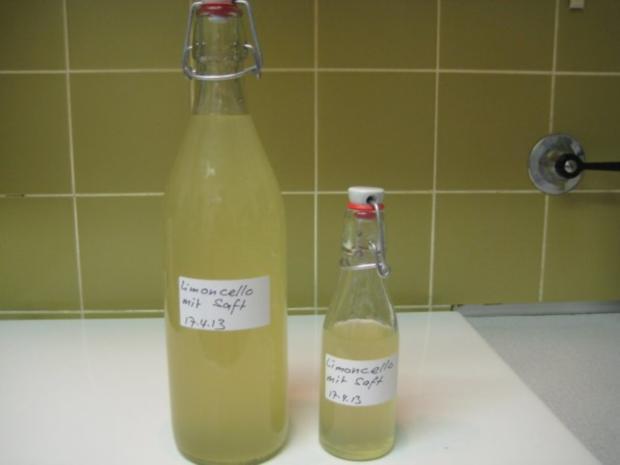 Limoncello mit Saft - Rezept - Bild Nr. 2