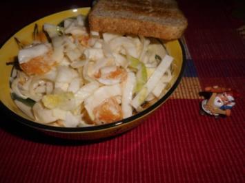 Chicorée-Orangen-Salat>> - Rezept