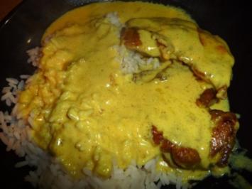 Schnelle Curryschnitzel - Rezept