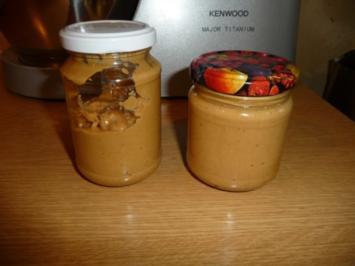 Erdnussbutter selbst gemacht - Rezept