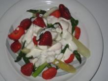 Spargel trifft Erdbeere - Rezept