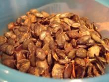 Pikant geröstete Kerne - Rezept