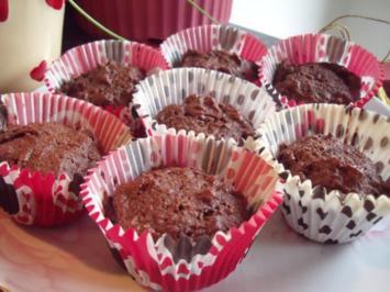 Haferkleie-Schoko-Muffins - Rezept