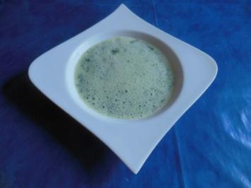 Suppe: Bärlauchschaumsüppchen - Rezept