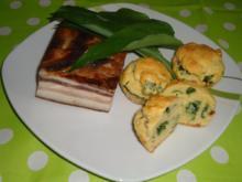Bärlauch-Speck-Muffins.... - Rezept