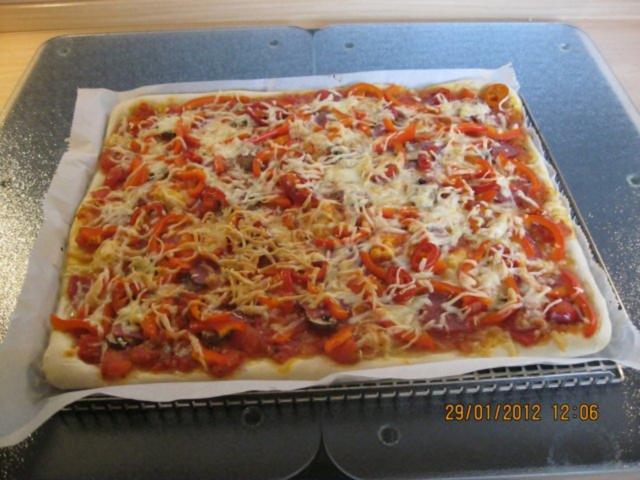 Pizza rezept italienische