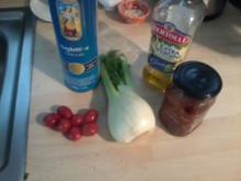 Fenchel-Tomaten-Spaghetti - Rezept