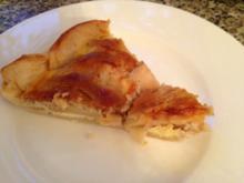 Apfel-Marzipan-Blätterteig Kuchen - Rezept
