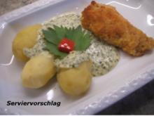 Soßen: Dip oder Dressing aus Radieschenblättern und Frischkäse - Rezept