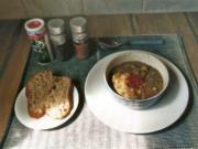 Linsensuppe mit Speck, Würstel und Kartoffel - Rezept