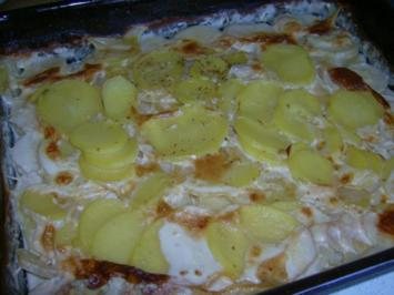 gratinierte Kartoffeln - Rezept
