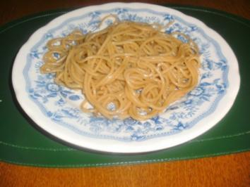"""Spaghetti, gekocht """"ohne Wasser"""" - Rezept"""