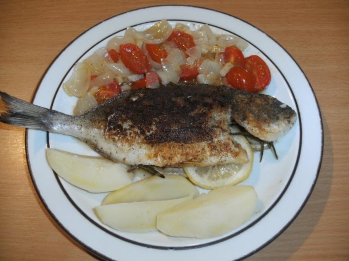 Fisch: Dorade gebraten - Rezept von goach