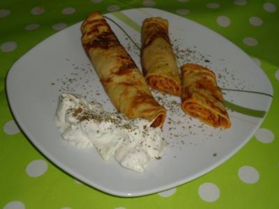 Pfannkuchen Bolognese - Rezept