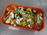Griechischer Hirtensalat - Rezept
